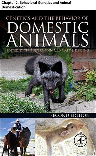 Genetics and the Behavior of Domestic Animals: Chapter 2. Behavioral Genetics and Animal Domestication (English Edition) por Per Jensen