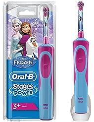 Oral-B Stages Power - Brosse à Dents Électrique pour Enfant - Reine des Neiges