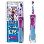 Oral-B Stages Power Kids Cepillo de dientes eléctrico, diseño Frozen