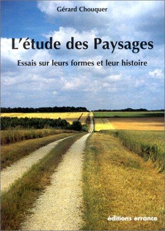 L'étude des paysages