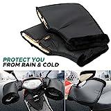 Audew Gant Moto Hiver Gant Chaud de Protection...