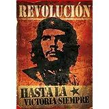 Póster en tela 'Che Guevara Vintage', Tamaño: 102 x 76 cm