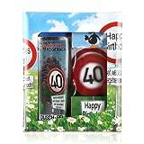Lustapotheke® Geschenkset zum 40. Geburtstag (Duschgel und Handseife)