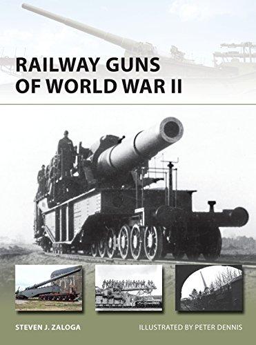 Railway Guns of World War II (New Vanguard Book 231) di Steven J. Zaloga,Peter Dennis