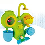 Badewannenspiel, 30x25 cm, mit Cotoons-Spielfigur Wabap: Baby Badespaß Badewannen Spielzeug Badespielzeug Badewanne Spiel Wasserrad