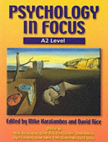 Psychology in Focus A2 Level for sale  Delivered anywhere in UK