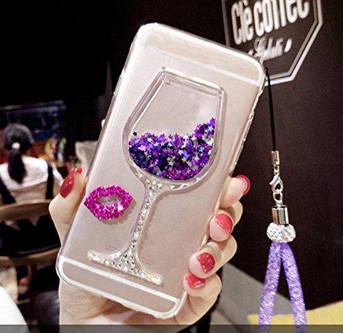 Cover Samsung Galaxy Note 5 N9200 360 Gradi,Custodia Full Body Samsung Galaxy Note 5 N9200,Fronte Retro trasparente Ultra Sottile Silicone Case Molle di TPU Sottile 3 in 1 Protezione Completa Glitter  Style 2