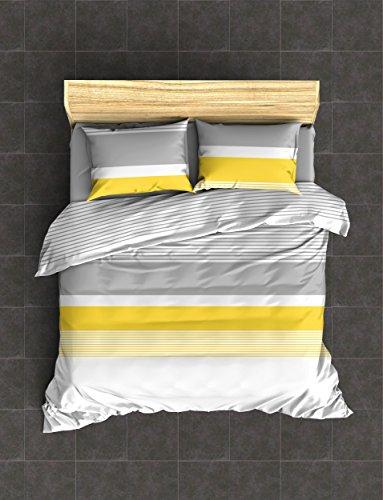 housse couette jaune. Black Bedroom Furniture Sets. Home Design Ideas