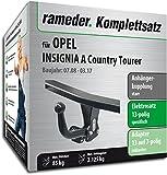 Rameder Komplettsatz, Anhängerkupplung Starr + 13pol Elektrik für Opel Insignia A Country Tourer (116970-38225-1)