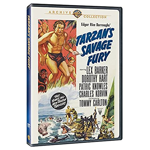 TARZAN'S SAVAGE FURY (Tarzan, der Verteidiger des Dschungels)