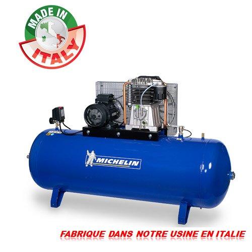 Compresseur d air MICHELIN cuve 500 litres Triphasé 7.5 Cv - 10 bars