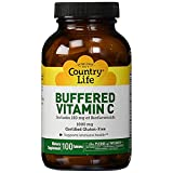 Country Life Buffered Vitamin C with Bioflavonoids, 100 Tabs, 1000 Mg from Country Life