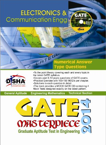 GATE Masterpiece Electronics & Communication Engineering Exam 2014 (With 4 Mock Test CD) (Old Edition) (Old Edition)