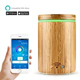 Best Amazon Aromatherapy Diffusers - Smart Wifi Wooden Essential Oil Diffuser Review