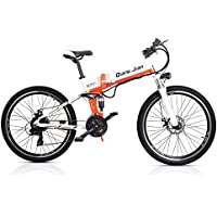 SHARMA NIA M80 Bicicleta Plegable de 21 velocidades 48V * 350W Suspensión Doble de Bicicleta eléctrica
