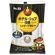 S&B Hotel · Chef Specification Special Beef Curry Dry 4 Pieces Pack × 2 Japan