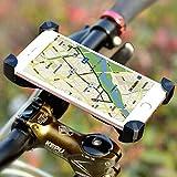 Fahrrad Handyhalterung, Wrcibo Universal Handy Halterung Outdoor Fahrradhalterung Fahrrad Lenker 360° Drehbare Handyhalterung Handy GPS Halter-Schwarz