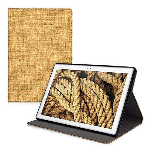 kwmobile-custodia-per-asus-zenpad-10-con-rivestimento-in-stoffa-e-sostegno-con-design-tessuto-tablet
