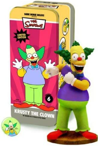 Dark Horse Deluxe Classic Simpsons Characters 6: Krusty the the the Clown | La Fabrication Habile  29ce0d