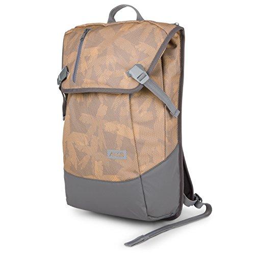 """AEVOR Daypack Rucksack - erweiterbar 18 auf 28 Liter, ergonomisch, Laptopfach 15\"""", wasserabweisend, Palm Ochre"""