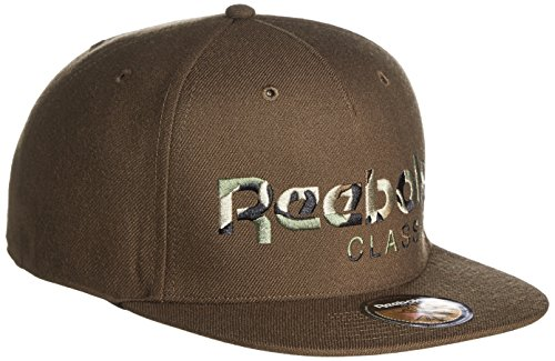 Reebok Herren Caps / Snapback Cap Camo grün Verstellbar -