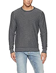 Tommy Hilfiger Mens Cotton Sweater (8907504639298_A7AMS109_2X_SKY CAPTAIN)