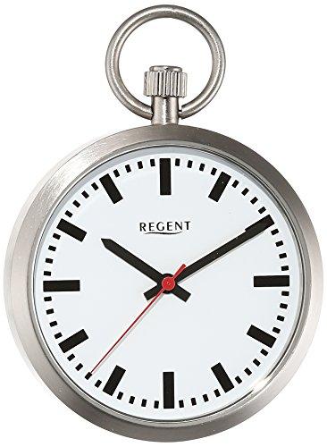 Regent Taschenuhr Regent Quartz Edelstahl 11280027