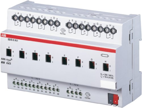 abb-sa-s8161-eib-knx-interruptor-y-atenuador-16a-reg-8-vias
