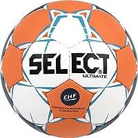 Select Ultimate–Balón de Balonmano, Todo el año, Color weiß Orange Blau, tamaño 2
