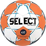 SELECT Ultimate Ballon de handball  I Blanc/Orange/Bleu I senior(3)