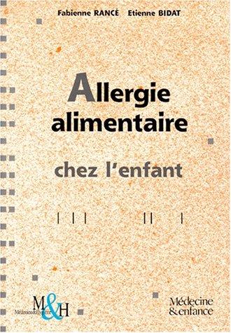 Allergie alimentaire chez l'enfant