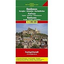 Carte routière : Kaukasus, Georgien, Armenien, Aserbaidschan, Ortsverzeichnis