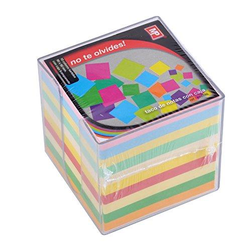 MP PN030 - Taco de notas fluorescente, 850 hojas, multicolor