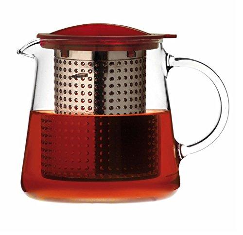 Finum Tea Control 0.8 l Teekanne mit Brew Control-Mechanismus, - Zen-wasser-filter