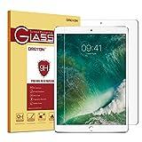 OMOTON Displayschutzfolie für iPad Pro 12.9 Zoll mit [2,5D Runde Kanten], [9H Härte], [kristallklar], [kratzerresistent]