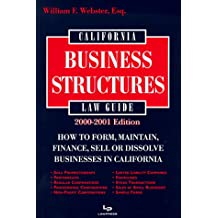 California Law Guide Business Structures