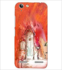PrintDhaba Painting D-4189 Back Case Cover for LENOVO A6020a46 (Multi-Coloured)