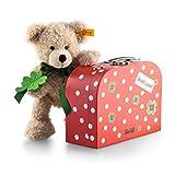 Steiff 114007 - Teddybär Fynn 24 im Koffer, beige