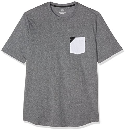 Oakley Herren 365 Tee T-Shirt, Athletic Heather Grey, FR : 34 (Taille Fabricant : S)