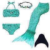 Cola de Sirena niña para nadar -  Mejor Calidad/Precio
