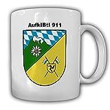 AufklBtl 911_Aufklärungsbataillon Füssen Gebirgsjäger Bundeswehr Abzeichen Wappen Emblem Tasse Kaffee Becher #14241