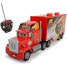 Cars Juguete camión con luz y sonido, color negro (Dickie 3089002)