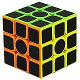 NFHNBABO El Cubo De Rubik Etiqueta De Fibra De Carbono Velocidad 3X3X3 3 * 3 * 3 Maestros Niños Adultos Juguetes Educativos