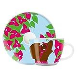Ritzenhoff 1580119 My Little Darling Design Espressotasse mit Untertasse, Maya Franke, Herbst 2015
