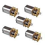 #8: Generic New 3-6V DC Small Micro Metal Geared Box Electric Motor High Quality DIY VE508 P40