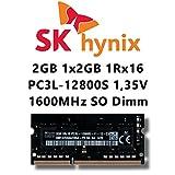 Hynix HMT425S6AFR6A-PB 2 GB DDR3 1600 MHz Speichermodul - Speichermodule (2 GB, DDR3, 1600 MHz, Laptop, 204-poliger SO-DIMM, 1 x 2 GB)
