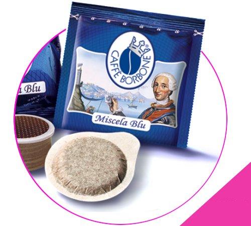 150 cialde caffe' borbone miscela blu 44 mm
