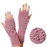 iSpchen Frau Arm Fingerlos Handschuhe