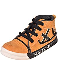 ESSENCE Baby Boy's Tan Casual Shoes