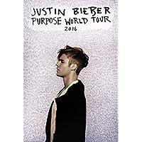 Justin Bieber Purpose Tour Maxi Poster-61x 91,5cm